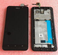 asus lcd - Tested LCD Screen display touch sreen Digitizer with frame For5 Asus Zenfone ZE551ML black color