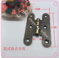 Wholesale butterfly plate hinge plate hinge flap hinges table furniture hardware fittings