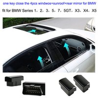 Wholesale Newest OBD window roll up closer module original cars Canbus OBD for BMW GT X3 X4 X5