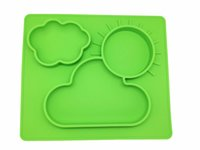 baby food trays - silicone baby food tray baby dinner plate