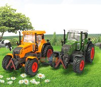 agricultural tractor - Alloy Truck Model DIY Tractor Agricultural Farm Agrimotor Boy Toy High Simulation Kid Christmas Gifts Collecting Home Decoration