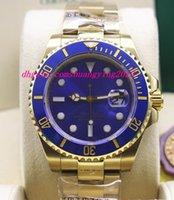 b mechanical watches - Luxury Watches High Quality Date LB ct Yellow Gold Sunburst Blue Ceramic B P Automatic Mens Watch Men s Watch Wristwatch