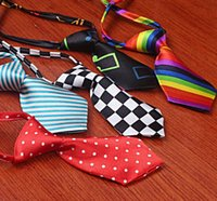 Wholesale Fashion Pet Dog Cat Poodles Handsome Bow Tie Necktie Bowknot Clothes
