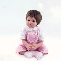 Wholesale Our Generation Doll Silicone Reborn Baby Dolls for Little Girl Lifelike Reborn Babies Play House Toy Birthday Gift brinquedods