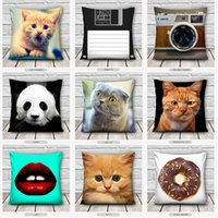 Wholesale 2016 High Quality Fashion Pillow Case Cute Case Bedding Room Home Decor Pillow Cover Home Living