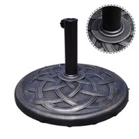 Wholesale 22 quot Round Umbrella Base Stand Market Patio Standing Outdoor Living Heavy Duty