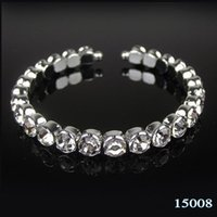 imitation jewelry - Sparkly Cheap Crystal Beads Bridal Bracelet In Stock Top Quality Jewelry Accessories for Party Homecoming Prom
