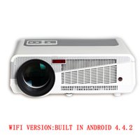 Wholesale Original LED Android Projector lumens full hd TV Home Theater D HDMI x768 LED86 Video Movie Beamer TV Proyector