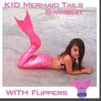 adult swim costume - Kids Mermaid Tails Children Dress Mermaid Adult Costume Fantasia Princess Bikini Swimsuit Girl Swimming Mermaid Tail Swimwear