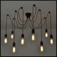 ac tech - AC V V V V Novelty Art Deco Modern DIY Chandelier Lustre Brief Pendant hanging lamps abajur ceiling chandeliers lamparas de tech