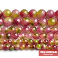 Wholesale Natural Stone Rose Green Malaysia Jade Loose Beads MM Pick Size For Jewelry Making No JD13