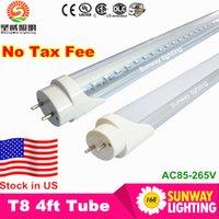 Cheap 4ft led t8 light tube 22W SMD2835 Light Lamp Bulb 4 feet 1.2m 1200mm 85-265V led lighting fluorescent lamp 3 year warranty