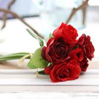 artificial ranunculus - Buttercup Ranunculus artificial fake silk flower wedding party home restaurant table decoration bride bouquet