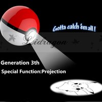 bank projects - DHL Fedex Free Poke Ball Power Bank mah rd Generation Poke Go Cartoon Phone Charger External Battery With Led Light Project M232