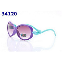 Wholesale Top Quality Kids Sunglasses Fashion Design Cute Childrens Sunglasses with Multi Colors for Boys and Girls D006