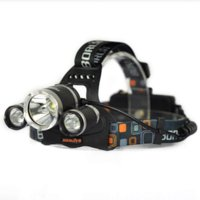 Wholesale 3T6 LM Boruit RJ x XM L T6 LED USB Headlight Lumen Head Lamp Flashlight Torch Lanterna Headlamp Battery Charger