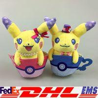 anime real dolls - 2016 Poke Pikachu Cartoon Cosplay Christmas Costumes Doll Anime Uniform Soft Plush Kids Baby Toy Gift Doll Real Doll Aduit Doll XL P158