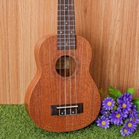 Wholesale 21 quot Ukulele Mahogany Acoustic guitar Rosewood Fretboard strings guitarra musical instruments