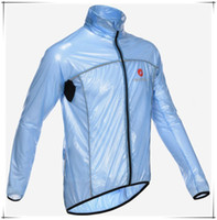 Wholesale Cycling Windcoat Rain Jacket Waterproof Hoody Ultra light Jersey Outdoor Sport MTB Hiking Camping Bike Bicycle Cycling Raincoat