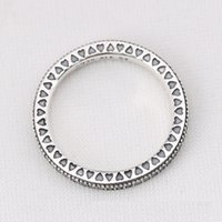 Wholesale 100 S925 Ale pandora ring for Valentine s Day sterling sliver pandora rings with box