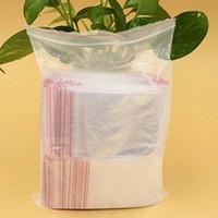 Wholesale Plastic Bags x10cm Jewelry Ziplock Zip Zipped Lock Reclosable Poly Clear Packaging Bags Papelaria Material Escolar