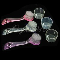 Wholesale Top Sale Exfoliating Blackhead Facial Brush Face Care Clean Beauty Wash Cap Scrub Tool For Bathroom