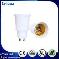 best cfl - Best Price new Lamp Bulb Converter Holder Adapter GU10 male to E27 female LED CFL Light Extend Socket Screw Base