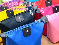 Wholesale HOT High Quality Lady MakeUp Pouch Cosmetic Make Up Bag Clutch Hanging Toiletries Travel Kit Jewelry Organizer Casual Purse