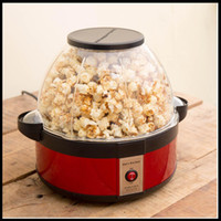 Wholesale Hot selling Domestic Nostalgia Electric Mini Carriage Shape Hot Air Popcorn Maker Popcorn Machine