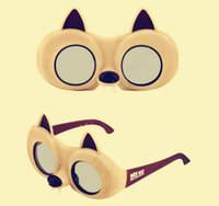 animal cinema - 3D Glasses Ice Age Collision Course Foldable Polarizer Squirrel Nut Styles Adult Kids Cinema Eyeglasses Gift