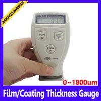 Wholesale Protable Paint Film Coating Thickness Gauge meter measurement ranges um MOQ