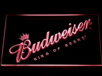 beer sign - 002 Budweiser LED Neon Sign Bar Beer Decor Dropshipping colors to choose