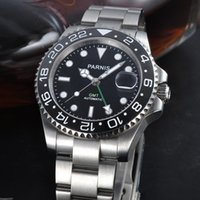 whites gmt - mm Sapphire Glass Automatic Men s GMT Watch Mechanical Automatic Mens Watch Men s Watches