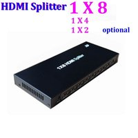 Wholesale HDMI Splitter X8 port distributes HDMI source to HDMI displays simultaneously Hub Repeater Amplifier v1 D p