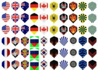 Wholesale 240x Dart Flights in kinds of Different Patterns Darts Dart Feather Super Value Pack
