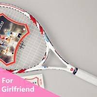 asia carbons - Egg Raquette Tennis Racket Racquet Raquete De Tenis Durable Tenis String Asia Famous Brand Para Carbon Tennis Bespanmachine C03M