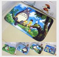Wholesale Totoro Hayao Miyazaki cartoon printing mats door mat