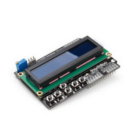 Wholesale For Arduino Expansion Board UNO R3 MEGA2560 MEGA1280 Keypad Shield LCD B00293