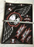 Wholesale Waterproof Vinyl Adhesive dirt bike Motorcycle Sticker Sheet x45cm Energy Drink Racing Sticker M53219