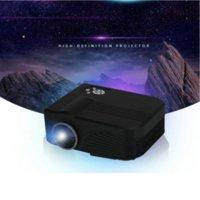 2015 Nouvelle arrivée 1000 Lumens 800x480 pixels Cheap HD USB LED Mini Pocket Home Cinéma Cinéma Multimédia Jeu Vidéo Projecteur