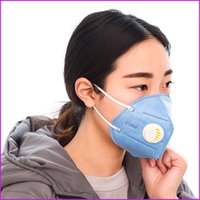 Wholesale Disposable PM2 Anti Haze Mask Anti dust Storm Mouth Mask Nonwoven Face Mask Mouth muffle With Valve