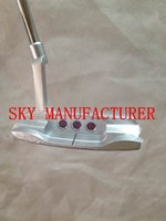 Wholesale Free Ship Discount Price Classic Golf Putter silver New port2 Putter or Putter Headcover