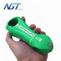 Wholesale New Design Road MTB Stand Stem Carbon Fiber Bicycle Stem Bicycle Parts Angle Degree mm UD Green Matt