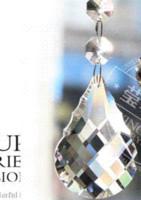 Wholesale 30pcs mm crystal prism pendant K9 crystal chandelier part SUNCATCHER pendant pendant craft prism base