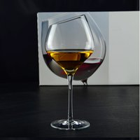 Wholesale cup Special offer red wine goblet Bordeaux Wine oblique mouth cup of wine