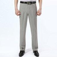 big mens linen pants - Big Size Men s Suit Pants Business Casual Linen Long Trousers Summer Style Mens Suit Pants Work Trousers