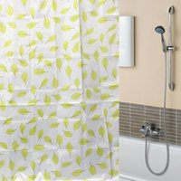 bathroom curtain shower prices - Lowest Price New Green Leaf Leaves Waterproof Bathroom Bath Shower Curtain Polyester x70 quot