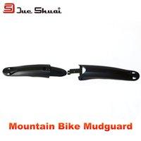 bicycle fender mounts - 26inch Mountain Bike Front Rear Mudguard Mountain Bicycle Fender Mount Bikes Wheel Tire Mud Protector Cycling Accessories Fender