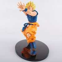 battle damaged goku - 2016 New arrival Dargon ball toys Super Saiyan PVC Battle damage Edition Son Goku high quality