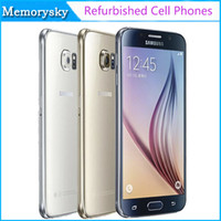 android phone at t - Refurbished Original Samsung Galaxy S6 G920A G920T G920P G920V Unlocked Cell Phone Octa Core GB GB MP inch G LTE AT T